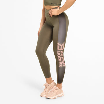 Chrystie High Tights / Wash Green - LoadedGym