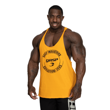 Gasp Stringer / Yellow - LoadedGym