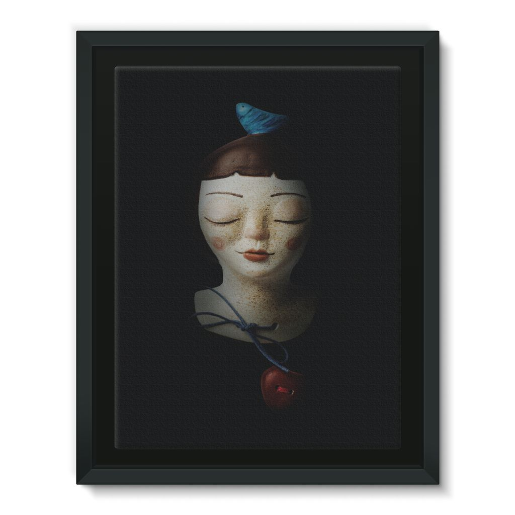 Birdie - Framed Canvas [5 sizes]
