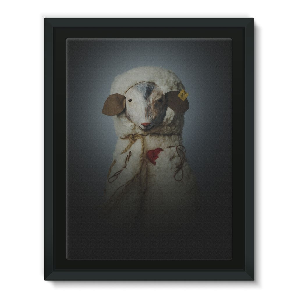 Teodora - Framed Canvas [5 sizes]
