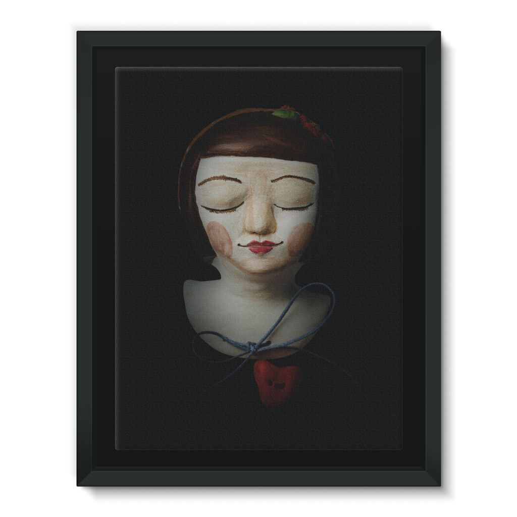 Ricardina - Framed Canvas [5 sizes]