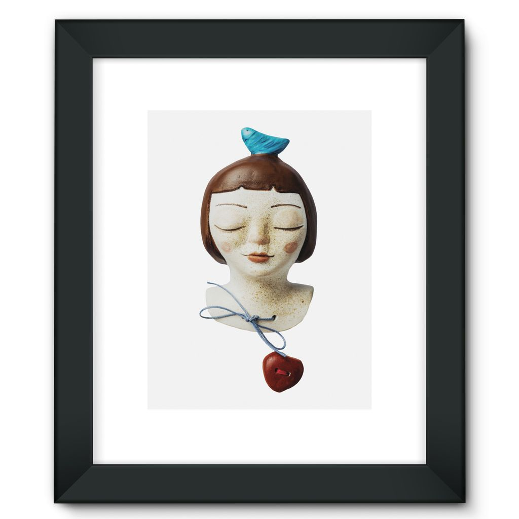 Birdie - Framed Fine Art Print [3 sizes]