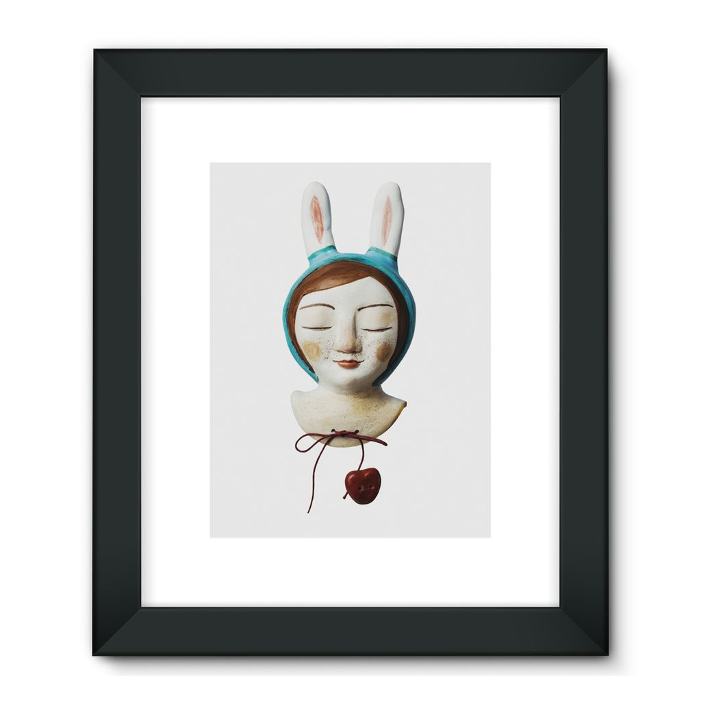 Bunny Girl - Framed Fine Art Print