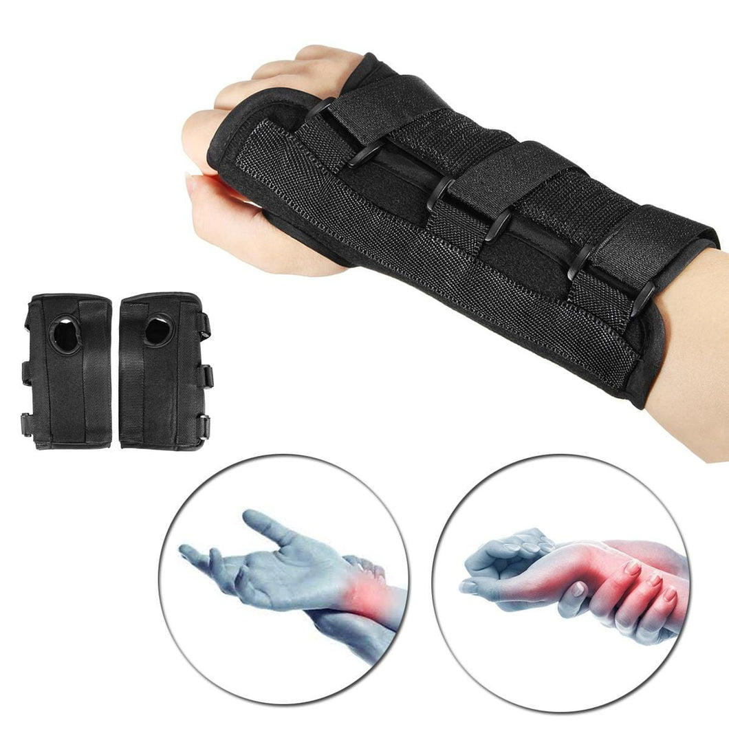 Medical Carpal Tunnel Wrist Brace Right or Left Hand Splint Support Adjustable and Breathable