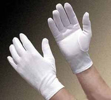 Load image into Gallery viewer, White Cotton Moisturizing Gloves
