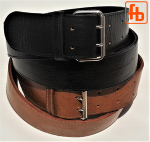Full Grain Leather Money Belt, The Smuggler's Belt!