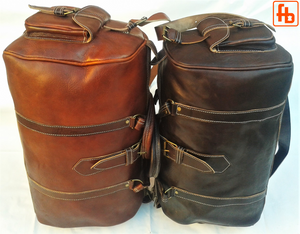 Travel Bag, Genuine Cowhide Luggage, Holdall, Gym Bag, Weekend Bag.