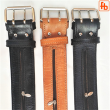 Load image into Gallery viewer, Full Grain Leather Money Belt, The Smuggler's Belt!