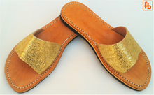 Load image into Gallery viewer, Ladies' Mule, Leather Upper, 'Triple Rubber Composite Sole'