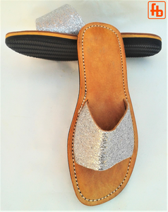 Ladies' Mule, Leather Upper, 'Triple Rubber Composite Sole'