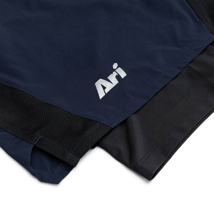 Ari  Men's 2in1 Running Shorts
