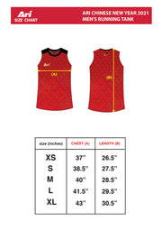 ARI CHINESE NEW YEAR 2021 MEN'S RUNNING TANK