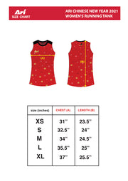ARI CHINESE NEW YEAR 2021 WOMEN'S RUNNING TANK
