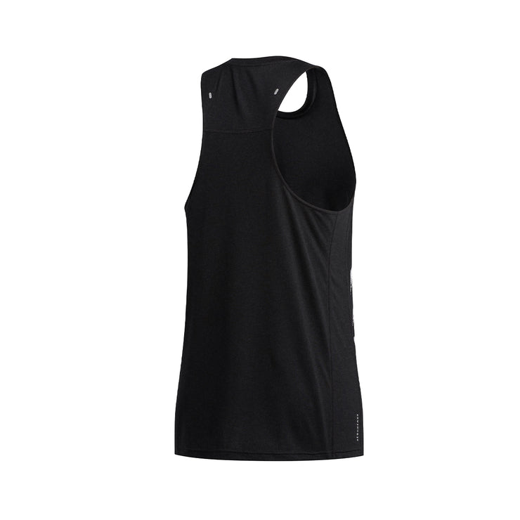 ADIDAS OWN THE RUN 3-STRIPES PB SINGLET