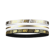 Nike 360 Metallic Headbands 3PK 2.0