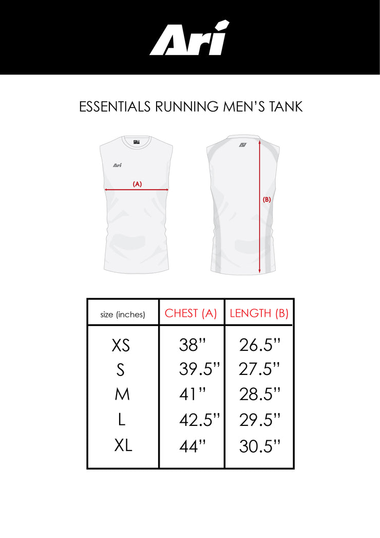 ARI MEN'S ESSENTIALS RUNNING TANK