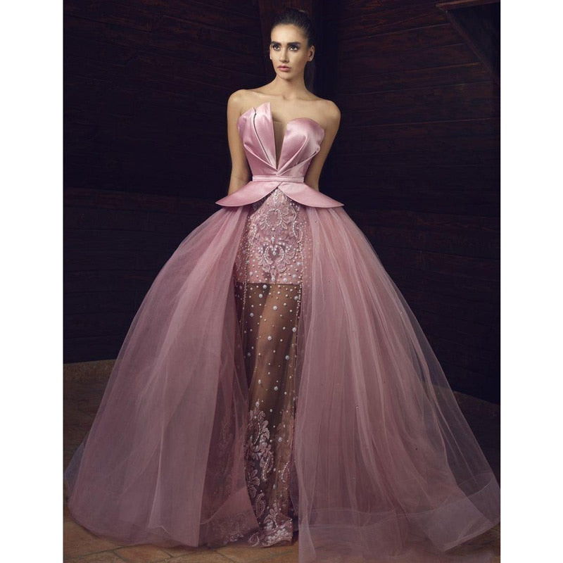 Prom Dress Puffy Tulle Chic
