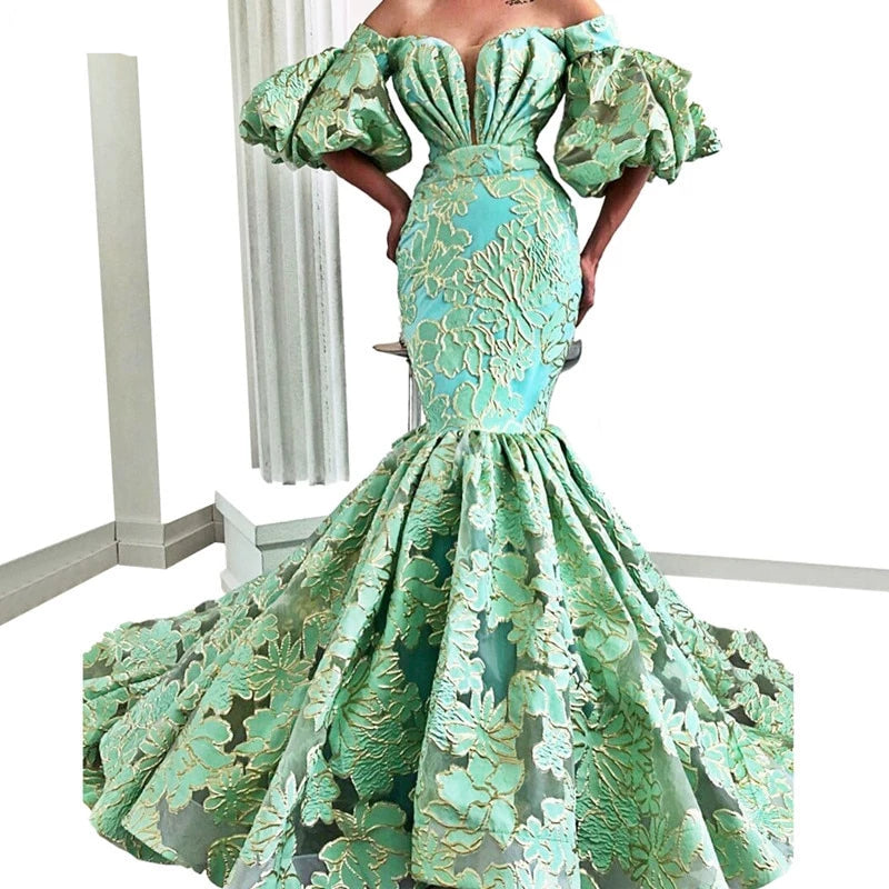 Women's Elegant Evening Mermaid  Gowns