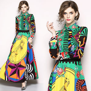 High Quality Fashion Runway  Maxi Dress