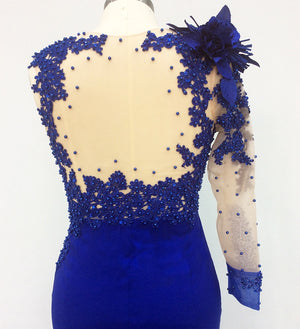 Royal Blue Formal Dress