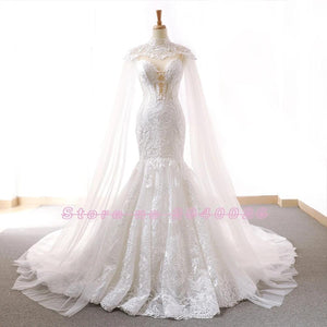 Women's  Lace Mermaid Wedding Dress