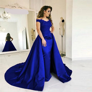 Margie's Royal Blue Gown