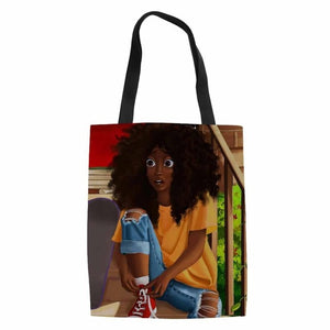Women African American Girls Art
