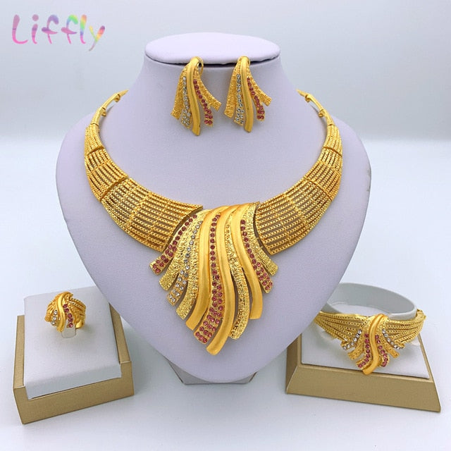 Indian Jewelry Sets Multicolor