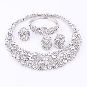 Women's  Jewelry  Crystal  3 PC Sets
