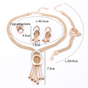 Women Fine Crystal  Jewelry Sets