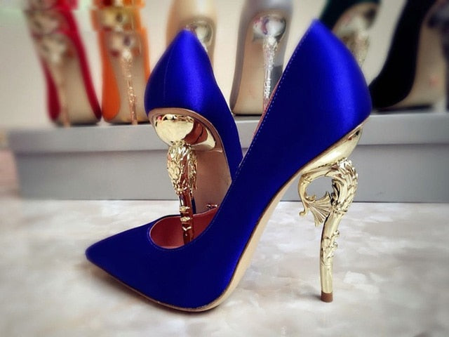 Celebrity  Luxury Metal  Heels