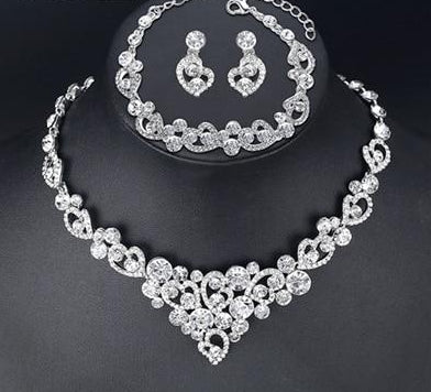 Women's  Crystal Bridal Jewelry Sets