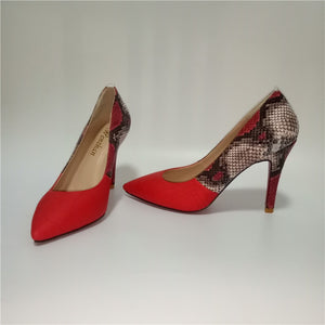 Women's  Red High Heels Pumps
