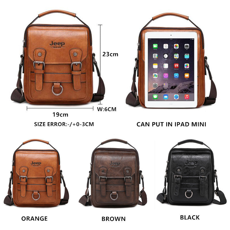 Men's Multi-function shoulder bag
