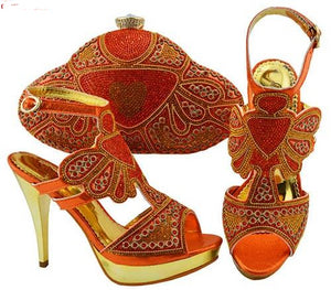 Woman's Italian Shoe & Bag Set