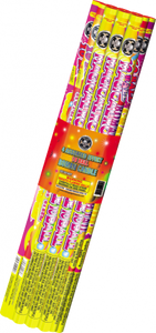 4 Assorted Pack of Roman Candles