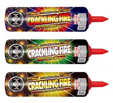Crackling Fire Roman Candles