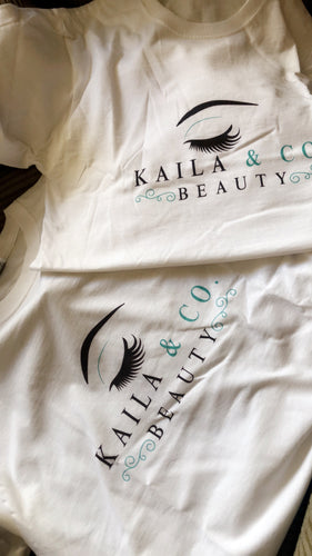 Logo T-Shirts - Kaila & Co. Beauty
