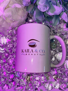 Logo Coffee Mug - Kaila & Co. Beauty