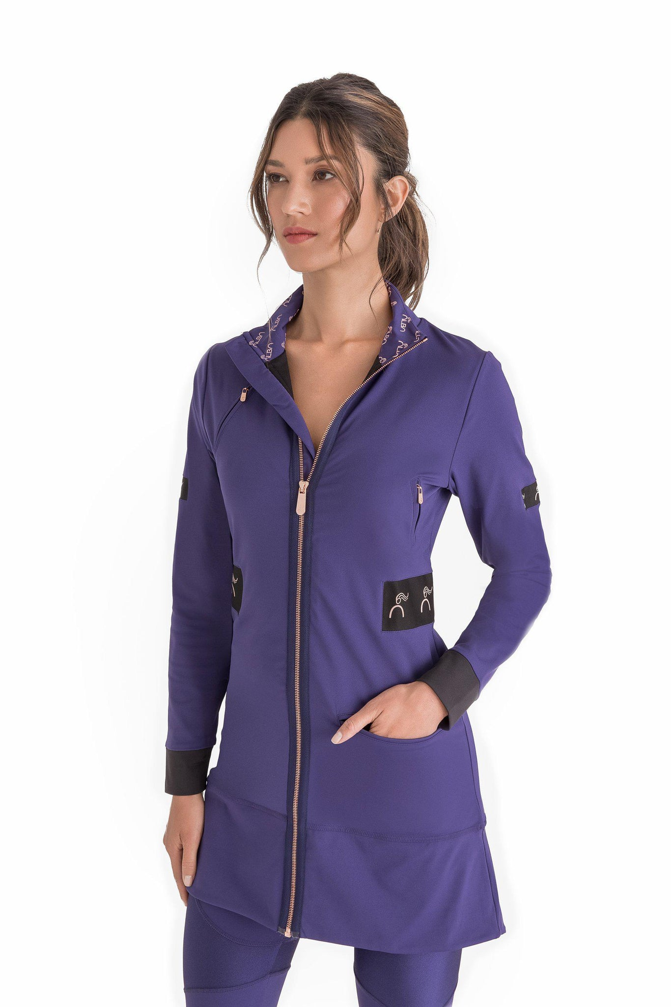 purple Carry the Day Jacket
