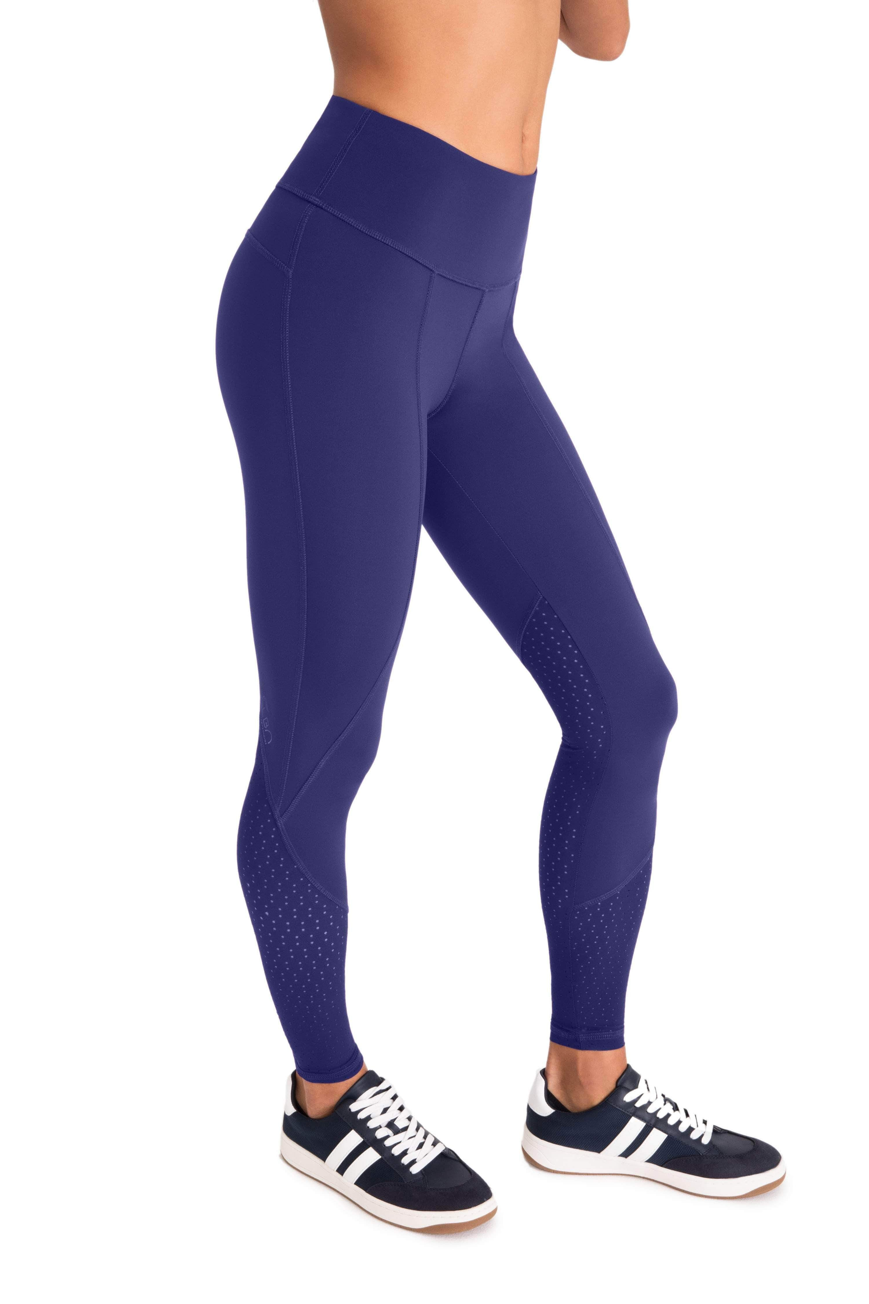 Workout of the Day Leggings (Blue) - Final Sale