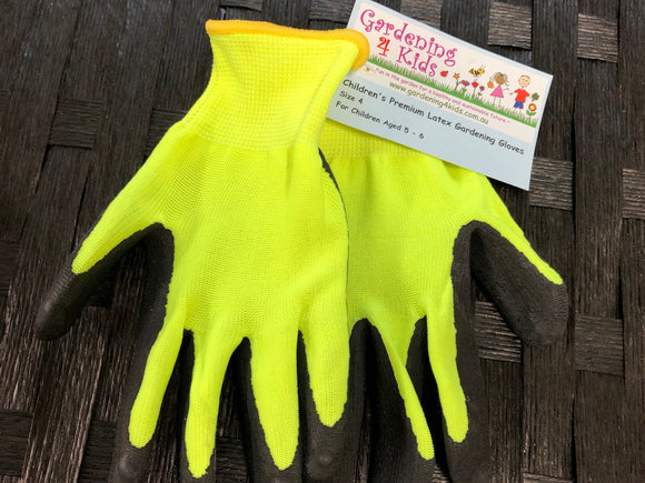 Children's Gardening Gloves - Size 4