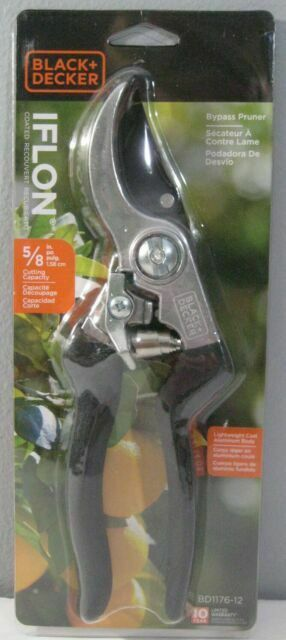 Bypass Pruner - Black & Decker 5/8