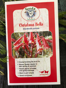 Seeds from Tasmania - Christmas Bells (OVERSEAS OPTION NO GST)