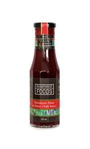 RAINFOREST FOODS - DAVIDSON'S PLUM AND SWEET CHILLI SAUCE 250ML