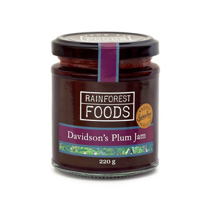 RAINFOREST FOODS - DAVIDSON'S PLUM JAM 220G