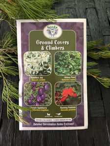 Seeds from Tasmania - Ground Covers & Climbers (OVERSEAS OPTION NO GST)