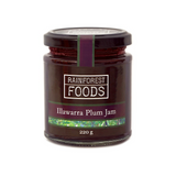 RAINFOREST FOODS - ILLAWARRA PLUM JAM 220G