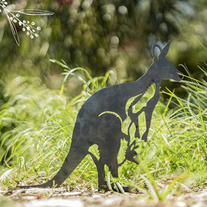 Kangaroo Animalia Art