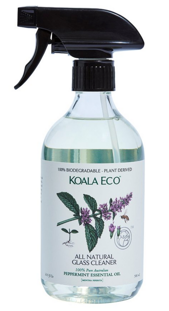 Koala Eco - Glass Cleaner with Peppermint Essential Oil - 500ml
